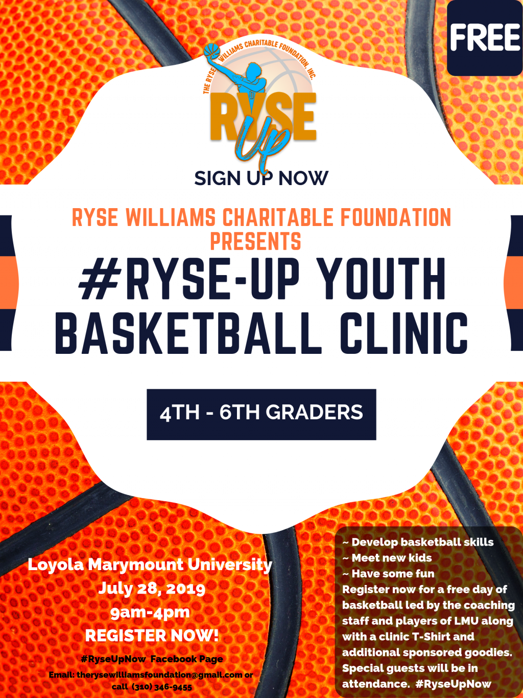 RyseUpNow Youth Basketball Clinic – Sand And Shores